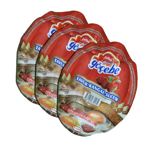 Gelka Göçebe 200 Gr Tavuk Vakumlu Kangal Sucuk